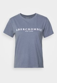 Abercrombie & Fitch - PARIS LOGO TEE  - Print T-shirt - blue - 3