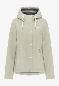 Schmuddelwedda - Soft shell jacket - pastelloliv - 4