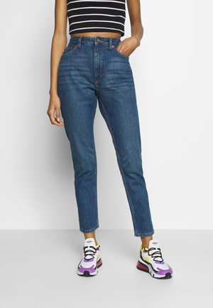 KIMOMO - Jeans a sigaretta - blue medium dusty