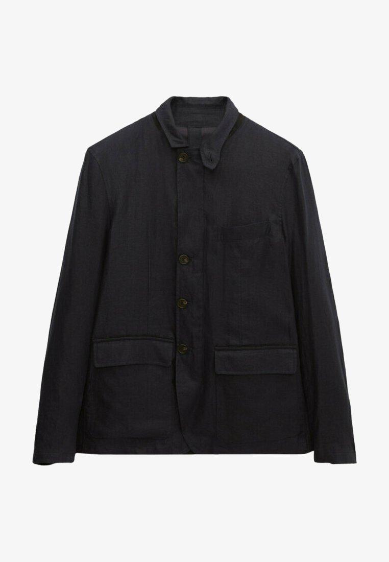 Massimo Dutti - Summer jacket - blue/black denim