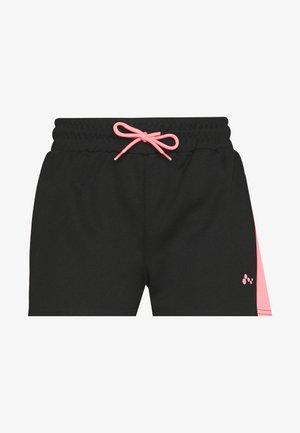 ONPALICE SHORTS - Träningsshorts - black/strawberry pink