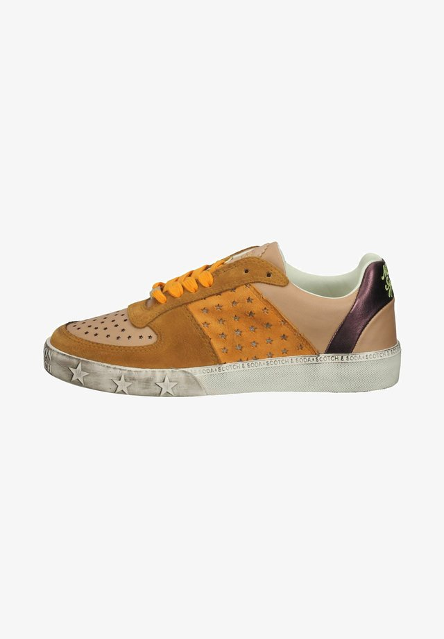 Sneakers laag - brown multi