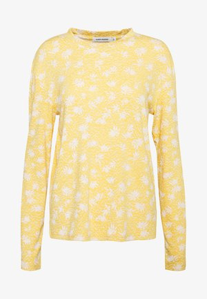 TRISTA - Long sleeved top - yellow