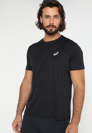 SILVER SS - Basic T-shirt - performance black