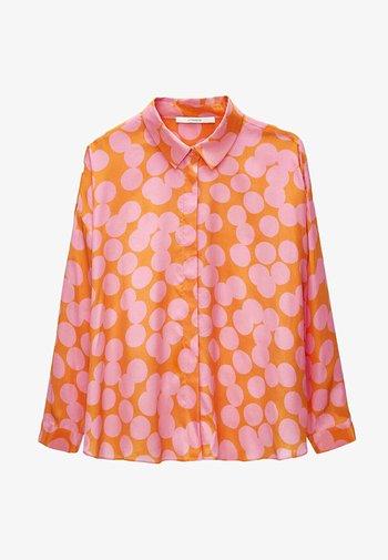 Button-down blouse - multi coloured