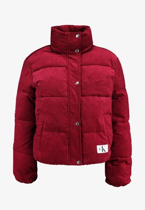 PUFFER JACKET - Winter jacket - beet red