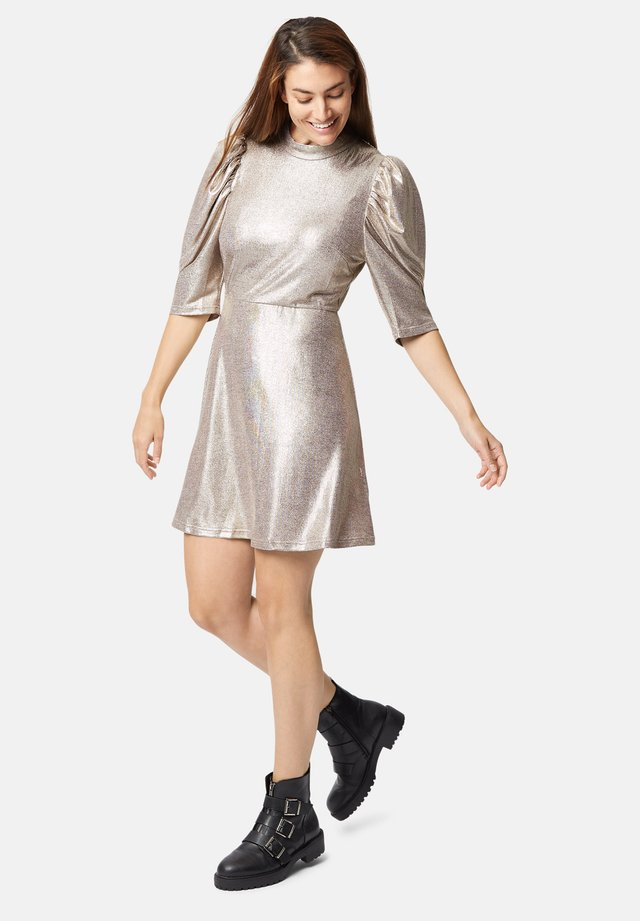 MAYBE METALLIC - Cocktail dress / Party dress - gold