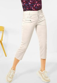 Street One - CASUAL FIT - Trousers - beige - 1