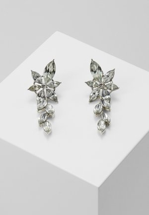 PCYALO EARRINGS - Earrings - silver-coloured/clear