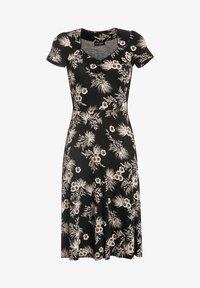 Vive Maria - TROPICAL BLOSSOM - Jumper dress - schwarz allover - 6