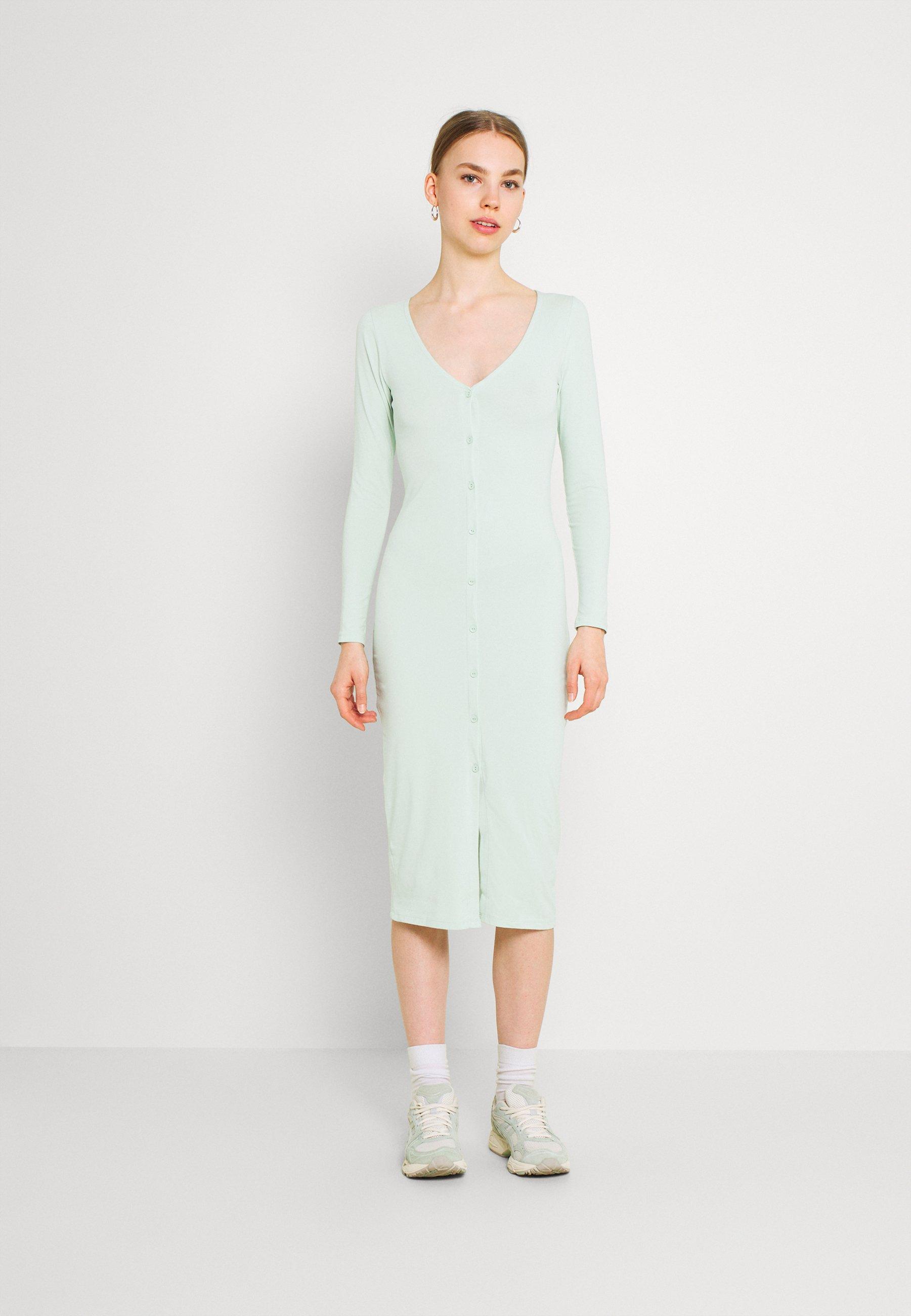 Women OFF DUTY BUTTON DRESS - Jersey dress