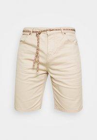 SEASONAL GARMENT DYED 5 POCKET - Shorts - sand