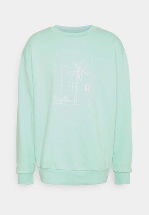 GRAPHIC CREW - Sweatshirt - clear mint