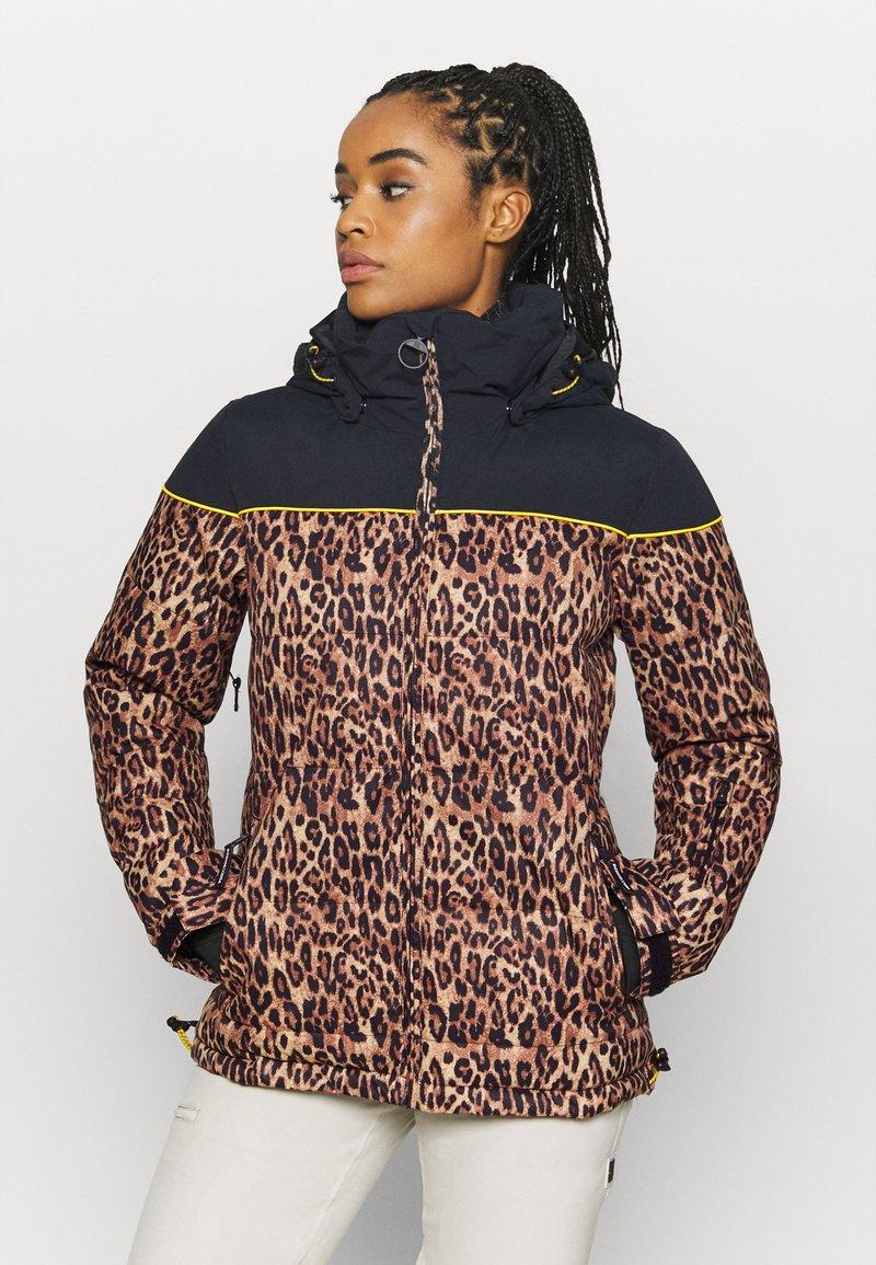 DC Shoes - DIVA JACKET - Snowboard jacket - leopard_fade