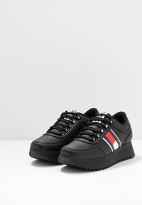 Tommy Jeans - HIGH CLEATED  - Trainers - black - 4