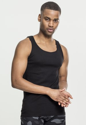 SEAMLESS TANKTOP 2 PACK - Top - black
