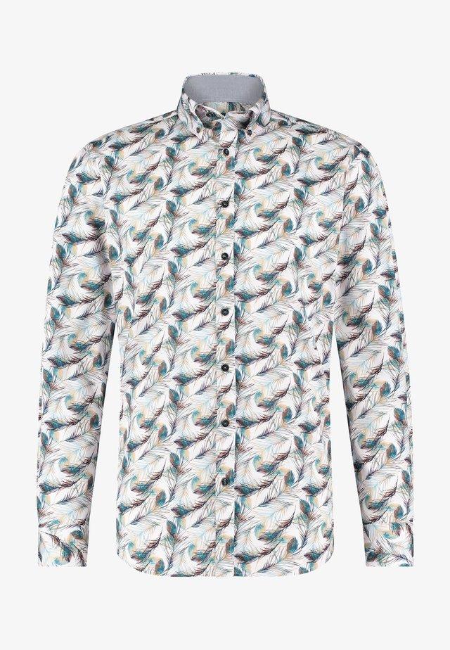 Overhemd - grey blue/white grey