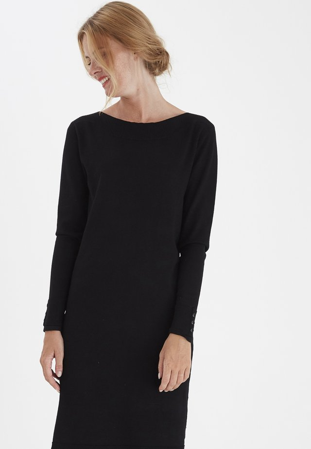 ZUBASIC - Shift dress - black