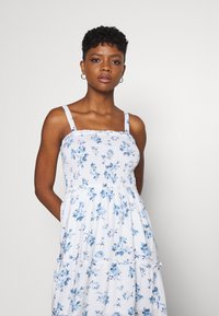 Hollister Co. - CHAIN MIDI DRESS - Day dress - white - 4