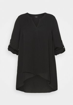 ASYMETRIC - Blouse - black
