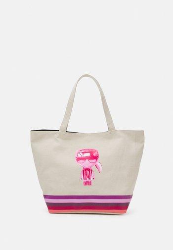 EXCLUSIVE BIARRITZ TOTE - Tote bag - natural