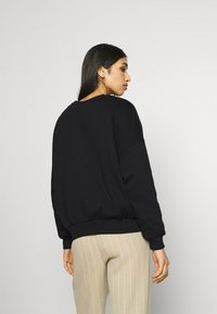 Even&Odd - YALE College Print Oversized Sweatshirt - Felpa - black - 2