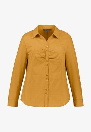 Button-down blouse - senf
