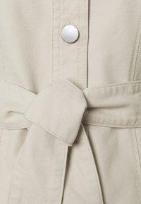 Monki - Shirt dress - beige dusty light - 5
