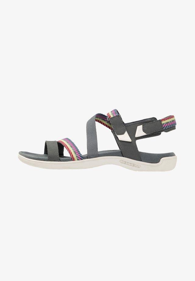 DISTRICT MENDI BACKSTRAP - Walking sandals - turbulence