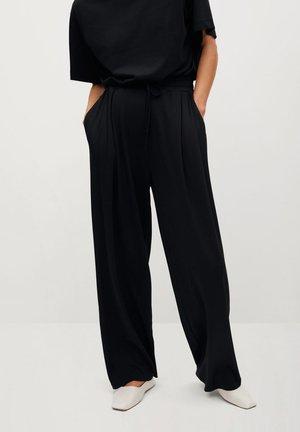 CHINO - Pantaloni - černá