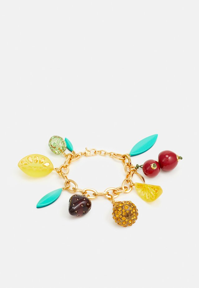 TUTTI FRUITY CHARM BRACELET - Armbånd - multicoloured