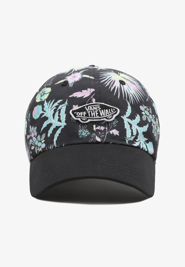 WM COURT SIDE PRINTED HAT - Cappellino - califas black