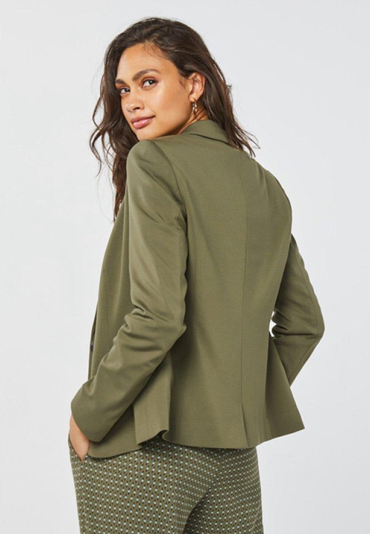 WE Fashion Blazer army green/dunkelgrünmeliert