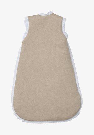 SCHLAFSACK KUSCHLIGER GANZJAHRESSCHLAFSACK - Baby's sleeping bag - beige