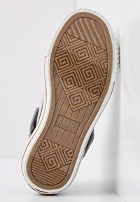British Knights - Sneakers hoog - lt grey/cognac - 4