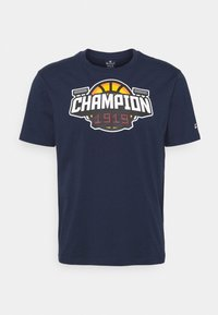Champion - CREWNECK - T-shirt imprimé - dark blue - 3