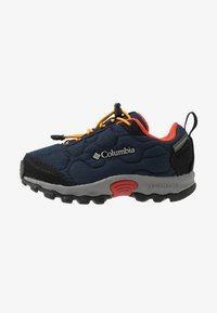 Columbia - CHILDRENS FIRECAMP SLEDDER WP - Hiking shoes - collegiate navy/flame - 1