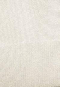 pure cashmere - CREW NECK DRESS - Pletené šaty - ivory - 2