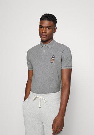 SHORT SLEEVE - Koszulka polo - classic grey heather