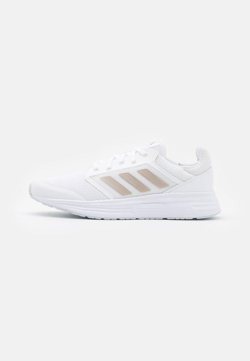 adidas Performance - GALAXY 5 - Neutral running shoes - footwear white/champagne metallic/halo blue