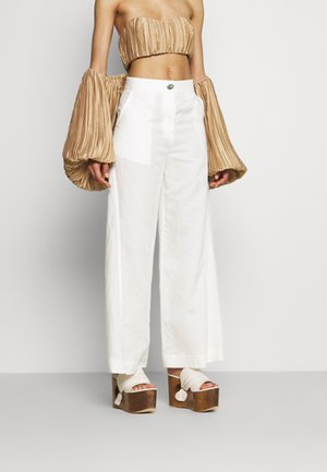 RYLAN PANT - Trousers - off white