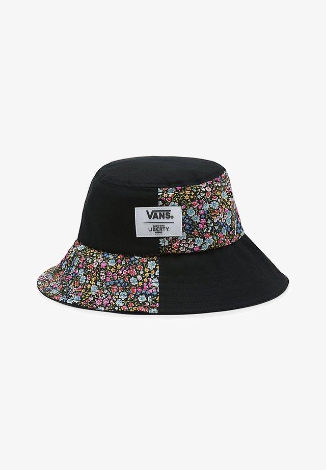 WM VANS MADE WITH LIBERTY FABRIC HAT - Chapeau - (liberty fabric) black
