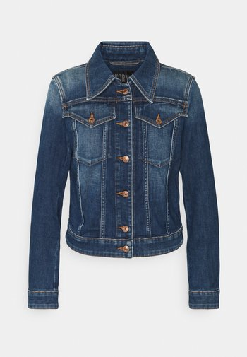 SOMERTON - Veste en jean - blau