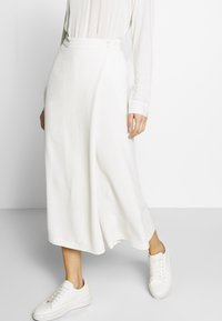 Marc O'Polo PURE - PANTS SKIRT - Trousers - natural white - 0
