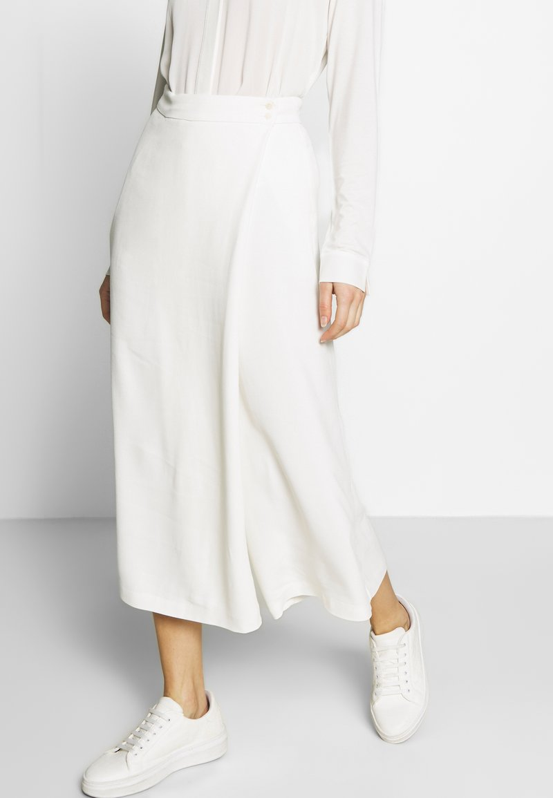 Marc O'Polo PURE - PANTS SKIRT - Trousers - natural white