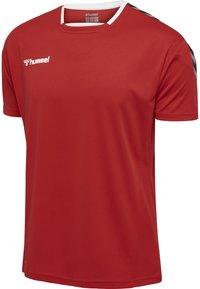 Hummel - Print T-shirt - true red - 2