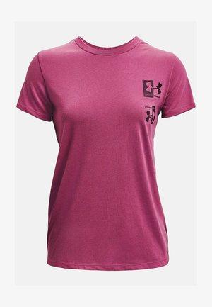 Print T-shirt - pink quartz