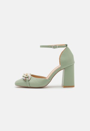 KONNY - Klassieke pumps - sage green