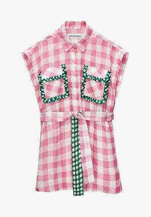 MIT VICHYKAROS  - Shirt dress - pink