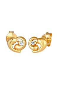 Elli DIAMONDS - HEART - Korvakorut - gold - 3